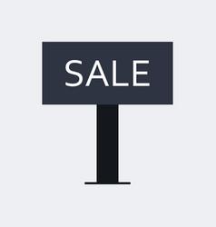 placard sale icon vector image