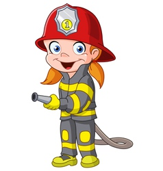 firegirl vector image