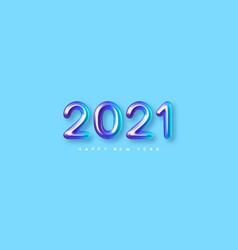2021 new year sign vector