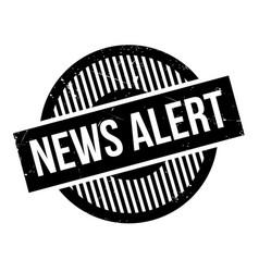 News alert rubber stamp vector