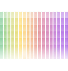 Pastel rainbow pixel bar abstract background vector