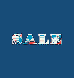 Sale concept word art vector