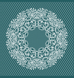 weddind ornament pattern vector image