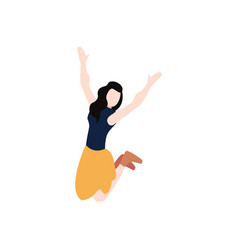 woman avatar character vector image