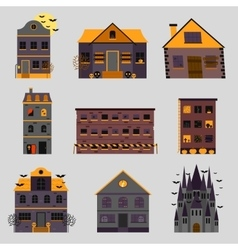 Scary house and horror house vector image vector image