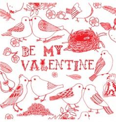 valentine5 vector image vector image