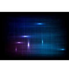 Dark glowing lines abstract background vector image