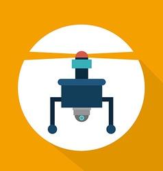 Drone design vector