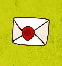 Envelope Cartoon vector image