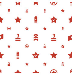 Rating icons pattern seamless white background vector