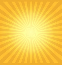 Vintage sun flare background vector
