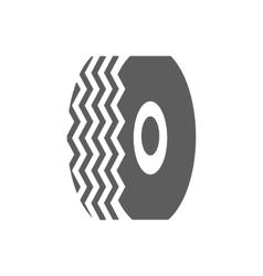 Car tire icon vector image