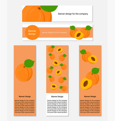 Design of business cards with fresh blueberry vector
