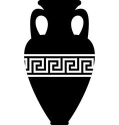 ancient amphora vector image