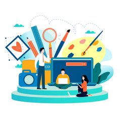 Design studio designing drawing photographing vector