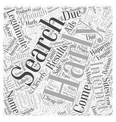 Did You Say Harly Word Cloud Concept vector image