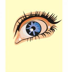 eye design vector image