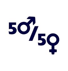 Man and woman symbol vector