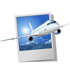 Passenger airbus a320 vector