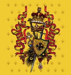 royal composition vector image