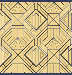 Template abstract art deco gold cs6 vector