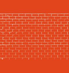the texture wall with masonry bricks laid vector image