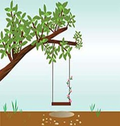 V tree with a swing vector