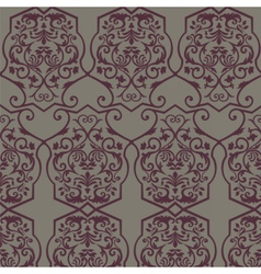 Vintage Empire motif ornament pattern vector