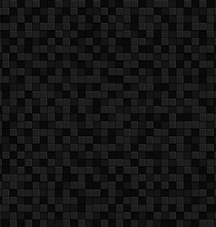 Black texture seamles pattern Background vector image vector image