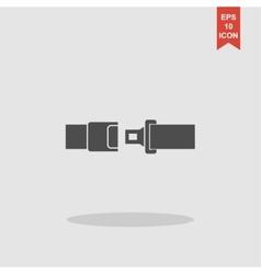 safe belt Modern design flat style vector image vector image