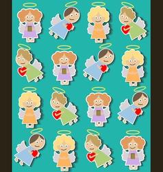 Angels01 vector