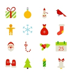 Christmas Holiday Objects vector