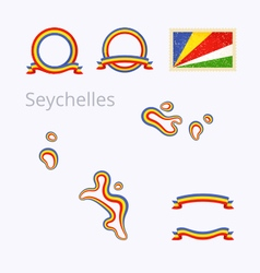 Colors of Seychelles vector image
