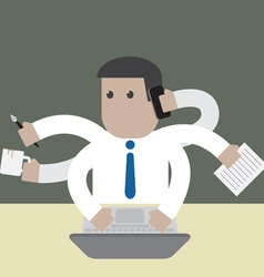 Employee businessman manything to do vector