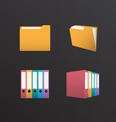 Folder Design vector image