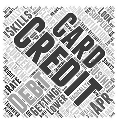 Haggling With Your Creditors Word Cloud Concept vector image