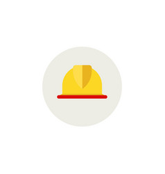 helmet for construction worker or foreman new vector image