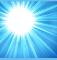 light rays background vector image