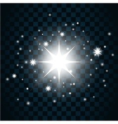Shine star sparkle icon 12a vector
