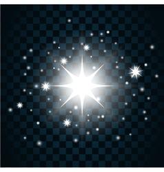 Shine star sparkle icon 12a vector