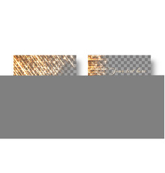 square background with rays of light vector image vector image