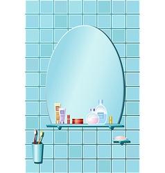 The bathroom vector