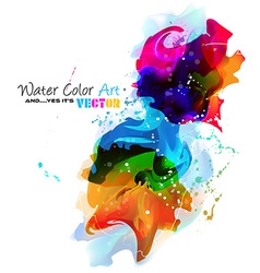 Watercolor Background and yes its vector image