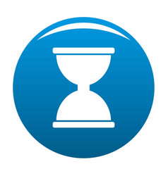 cursor click loading icon blue vector image vector image