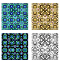pattern psychedelic vector image