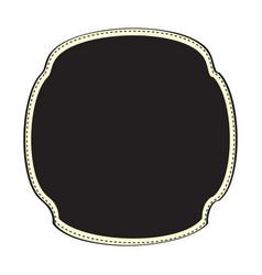 vintage sale label vector image
