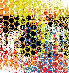 pattern grunge background vector image vector image