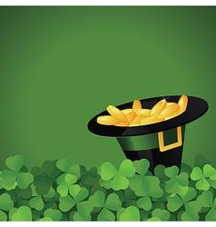 St Patrick s Day festive frame vector image vector image