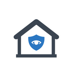 home safety guard icon vector image