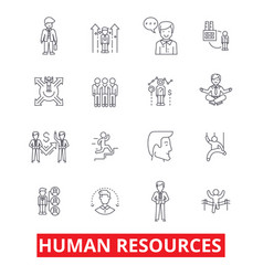 Human resources people hiring employee hr vector
